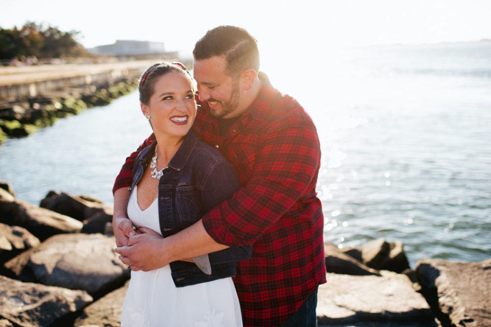 Long Beach Island New Jersey Engagement