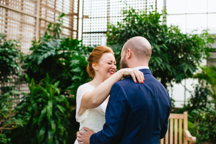 Fall Botanical Greenhouse Philadelphia Wedding