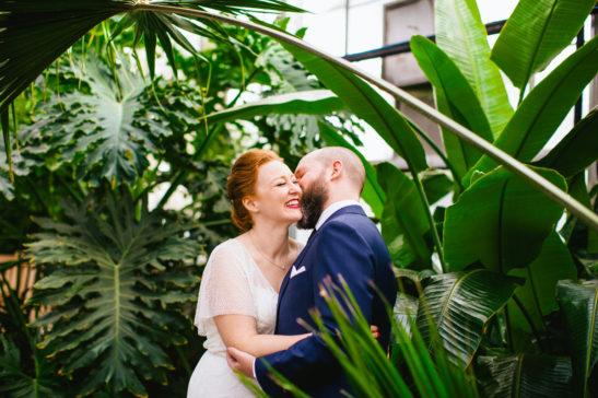 Fall Botanical Greenhouse Wedding Horticulture Center Fairmount Park Philadelphia