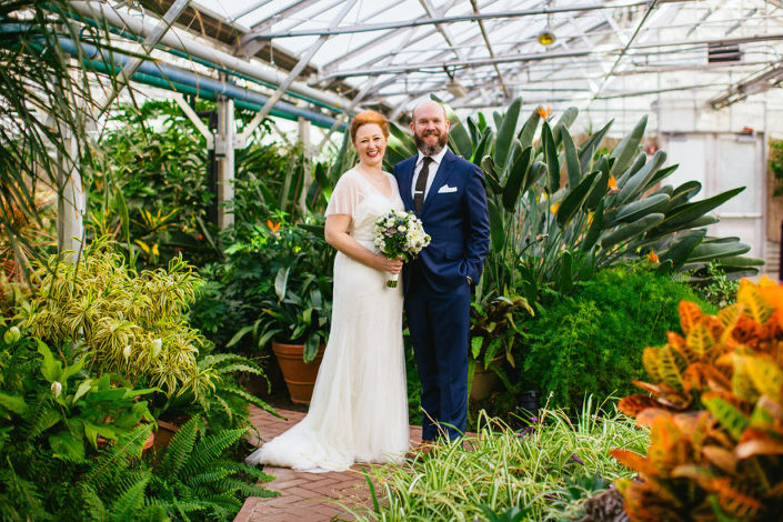 Fall Botantical Wedding Horticulture Center Fairmount Park Philadelphia