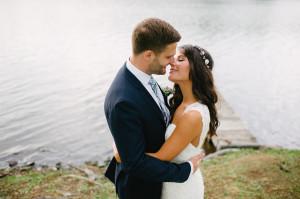 Intimate Romantic Rustic Wedding Photography