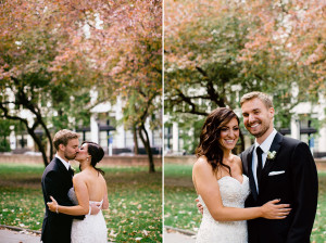 vintage gold fall wedding