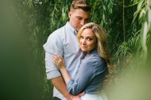 Old City Philadelphia Garden Engagement