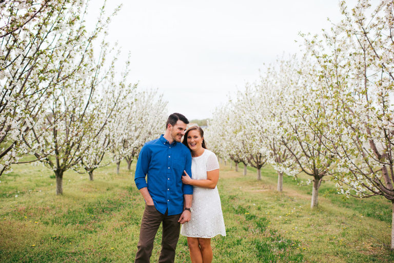 Heritage Vineyards New Jersey Spring Engagement Session