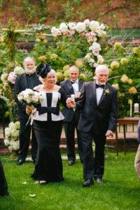 intimate colonial dames philadelphia wedding