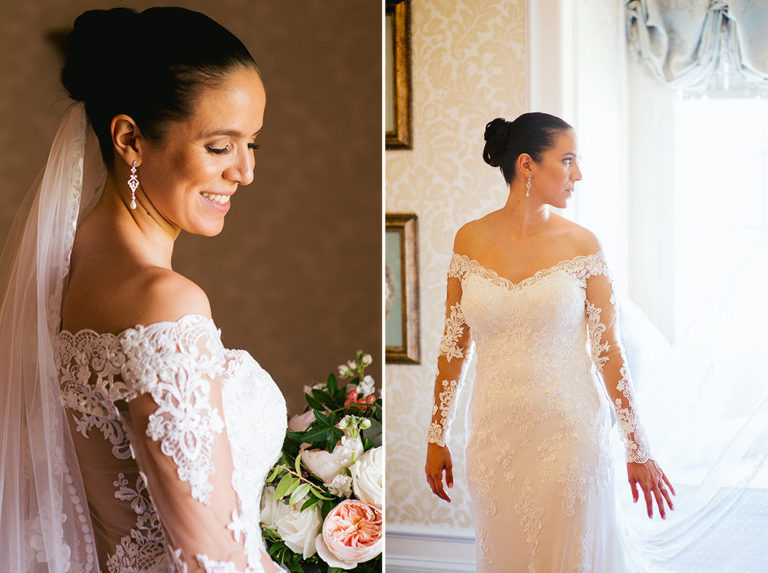 Vintage Lace Wedding Gown Velvet Florals Bride The Ashford Estate