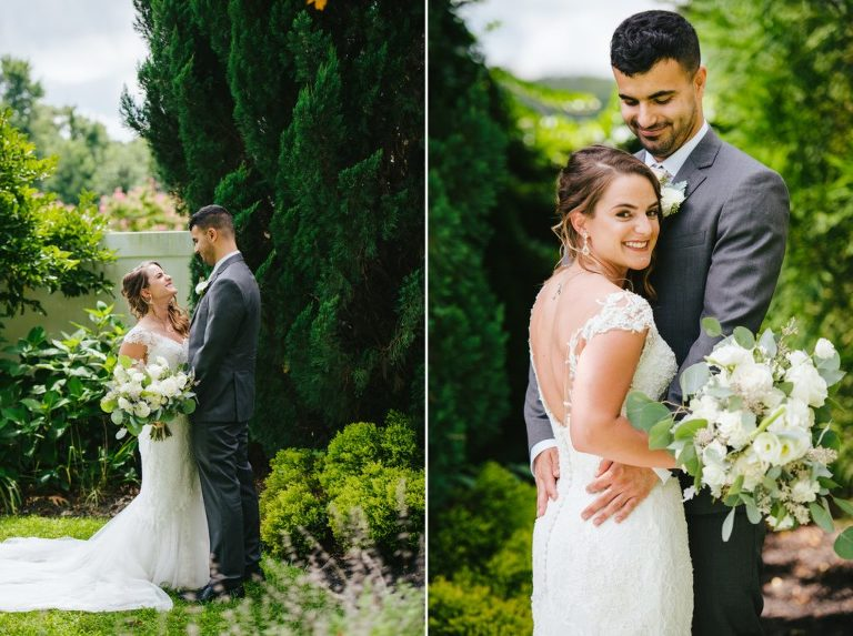 Intimate Rainy Summer Wedding at Valenzano Winery New Jersey